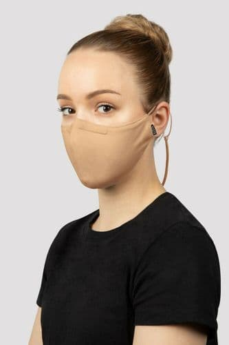BLOCH B-Safe Adults Soft Stretch Face Covering Mask Moldable Nose Pad & Lanyard